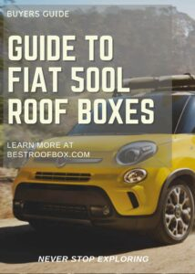Fiat 500L Roof Box Buyers Guide Pin