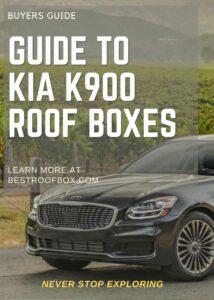 Kia K900 Roof Box Buyers Guide Pin