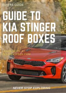 Kia Stinger Roof Box Buyers Guide Pin