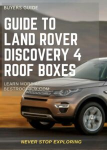 Land Rover Discovery 4 Roof Box Buyers Guide Pin