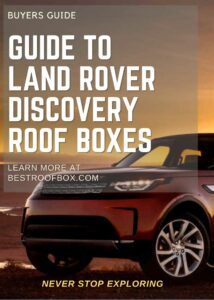 Land Rover Discovery Roof Box Buyers Guide Pin