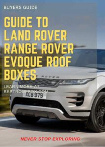 Land Rover Range Rover Evoque Roof Box Buyers Guide Pin