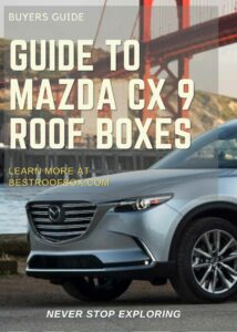 Mazda CX 9 Roof Box Buyers Guide Pin