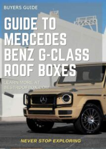 Mercedes Benz G-Class Roof Box Buyers Guide Pin