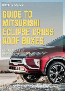 Mitsubishi Eclipse Cross Roof Box Buyers Guide Pin