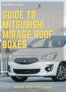 Mitsubishi Mirage Roof Box Buyers Guide Pin