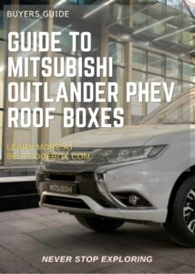 Mitsubishi Outlander PHEV Roof Box Buyers Guide Pin