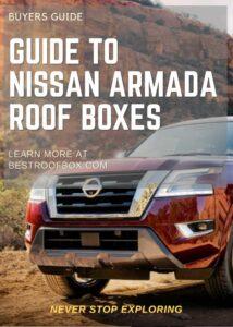 Nissan Armada Roof Box Buyers Guide Pin