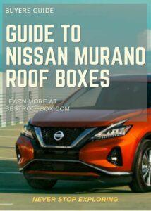 Nissan Murano Roof Box Buyers Guide Pin
