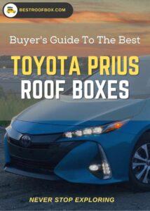 Toyota Prius Roof Box Buyers Pin