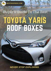 Toyota Yaris Roof Box Buyers Pin