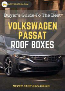 Volkswagen Passat Roof Box Buyers Pin