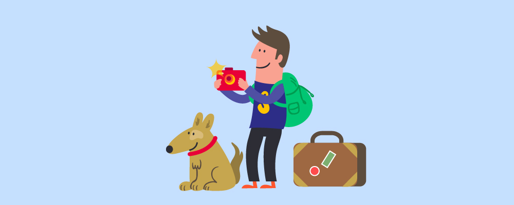 4.Mistakes To Avoid When Traveling With A Dog