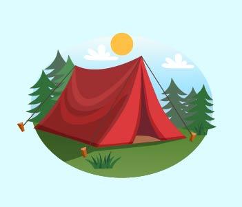 1.A Tent