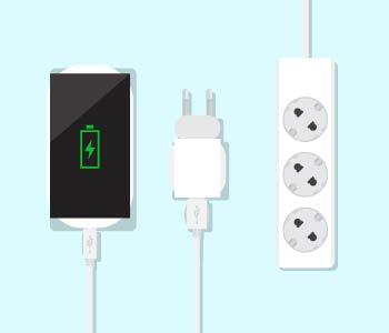 19.Electronics + USB chargers