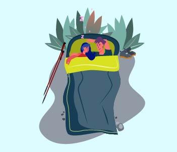 2.A Sleeping Bag
